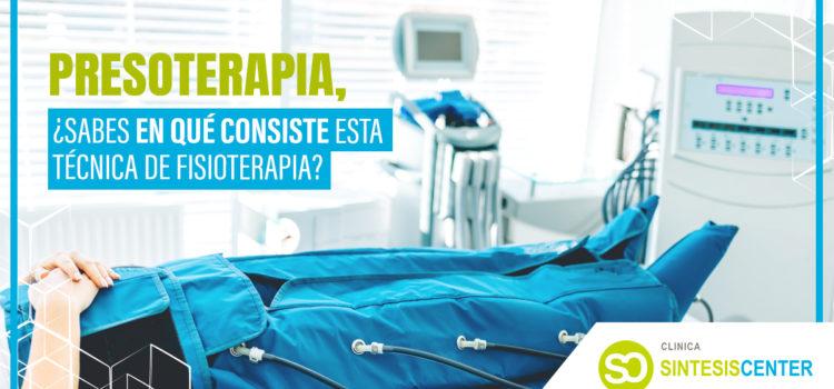 Presoterapia: ¿sabes en qué consiste esta técnica de fisioterapia?